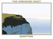 railway posters, posters, Yorkshire coast, , Bryan harford